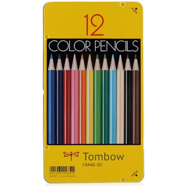 TOMBOW CB-NQ 顏色筆 12色, TOMBOW CB-NQ COLOR PENCIL (12 COLOR)