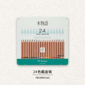 TOMBOW CB-RF 木物語顏色筆 24色, TOMBOW CB-RF colored pencil F tree narrative