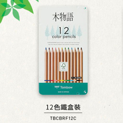 TOMBOW CB-RF 木物語顏色筆 24色, TOMBOW CB-RS COLOR PENCIL (12 COLOR)