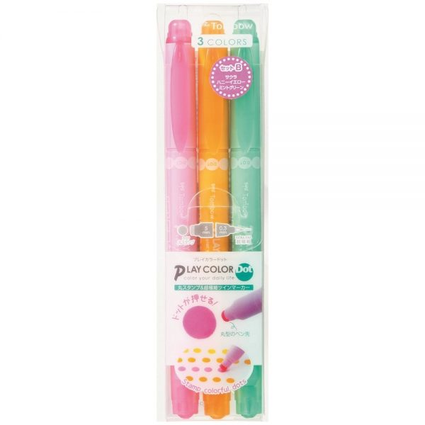 TOMBOW GCE-311B 水筆, TOMBOW GCE-311B PLAY COLOR DOT DRAWING PEN PACK