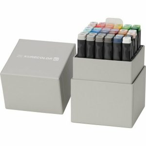 ZIG KUREOLOR TWIN WS KC-3000N36V 螢光筆 (36色), ZIG KUREOLOR TWIN WS KC-3000N36V (36 COLORS SET)