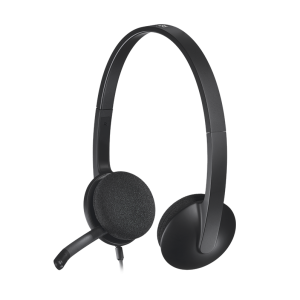 LOGITECH H340 配備數位音訊, LOGITECH H340 USB COMPUTER HEADSET WITH DIGITAL AUDIO