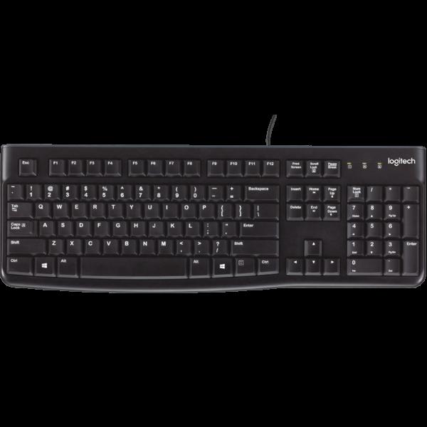 LOGITECH K120 鍵盤, LOGITECH K120 KEYBOARD