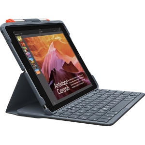 LOGITECH SLIM FOLIO 鍵盤保護殼, LOGITECH SLIM FOLIO CASE WITH INTEGRATED BLUETOOTH KEYBOARD