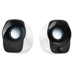 LOGITECH 精巧的立體聲音箱, LOGITECH COMPACT STEREO SPEAKERS