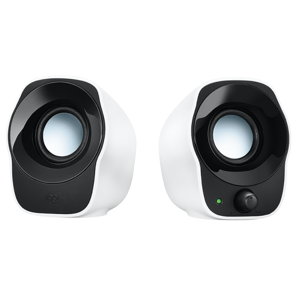 LOGITECH 精巧的立體聲音箱, LOGITECH COMPACT STEREO SPEAKERS