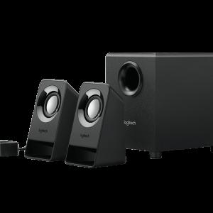 LOGITECH Z213 精簡 2.1 聲道音箱系統, LOGITECH Z213 COMPACT 2.1 SPEAKER SYSTEM