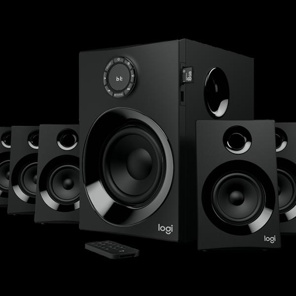 LOGITECH Z607 5.1 聲道環繞音效音箱, LOGITECH Z607 5.1 SURROUND SOUND SPEAKER SYSTEM