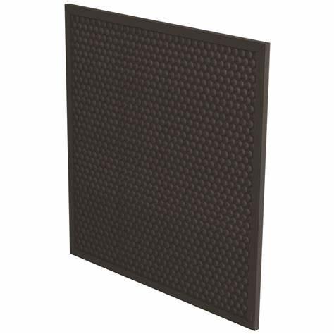 活性碳過濾網連預過濾網 4片裝 黑色