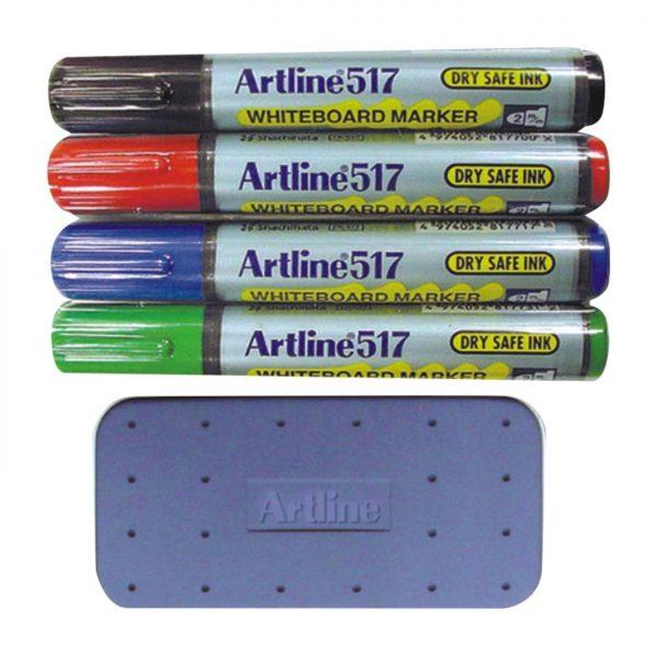 ARTLINE EK-519KIT 白板筆, ARTLINE EK-519KIT WHITEBOARD PEN