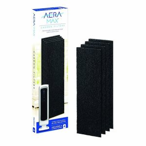 FELLOWES AERAMAX DX-5 小型活性碳過濾網 黑色 (4個裝), FELLOWES AERAMAX DX-5 CARBON FILTER BLACK (4 PACKS)