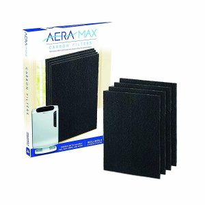 FELLOWES AERAMAX DX-55 碳空氣淨化器過濾網 黑色 (4個裝), FELLOWES AERAMAX DX-55 CARBON FILTER BLACK (4 PACKS)