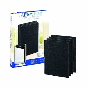 FELLOWES AERAMAX DX-95 活性碳過濾網 黑色 (4個裝), FELLOWES AERAMAX DX-95 CARBON FILTERS BLACK (4 PACKS)