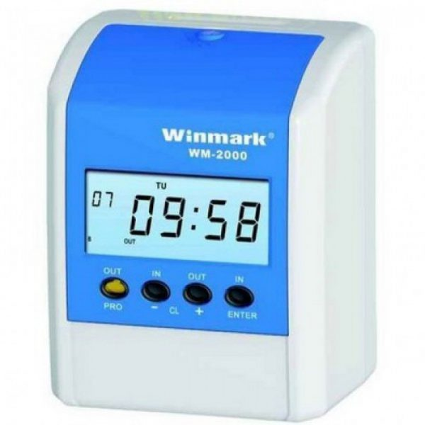 WINMARK WM-2000 四行雙色咭鐘, WINMARK WM-2000 TIME RECORDER