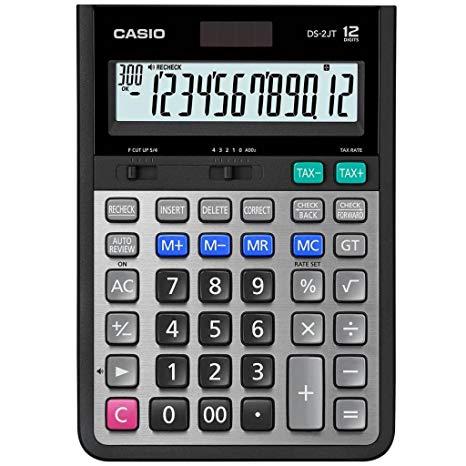 CASIO DS-2JT 計算機, CASIO DS-2JT CALCULATOR