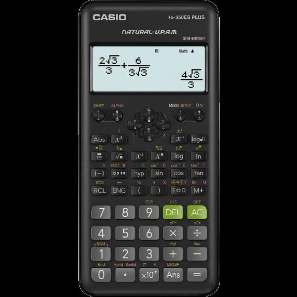 CASIO FX-350ES-PLUS 計算機, CASIO FX-350ES-PLUS CALCULATOR