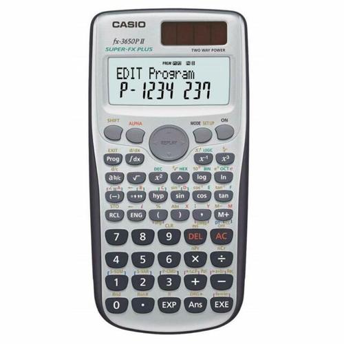 CASIO FX-3650PII 計算機, CASIO FX-3650PII CALCULATOR