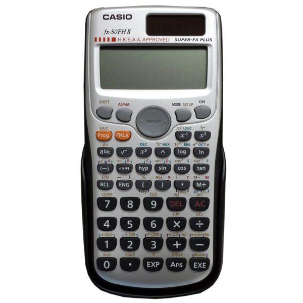 CASIO FX-50FH II 計算機, CASIO FX-50FHII CALCULATOR
