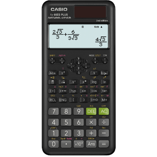 CASIO FX-85ES-PLUS 2ND EDITION 計算機, CASIO FX-85ES-PLUS 2ND EDITION CALCULATOR