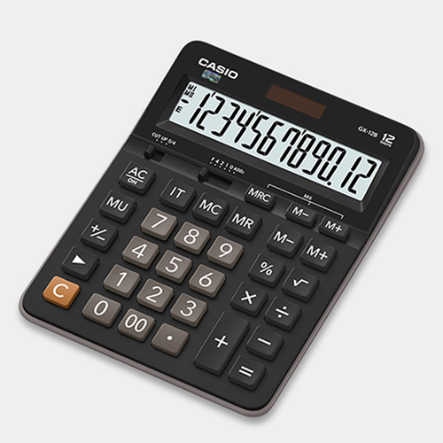 CASIO GX-12B 計算機, CASIO GX-12B CALCULATOR