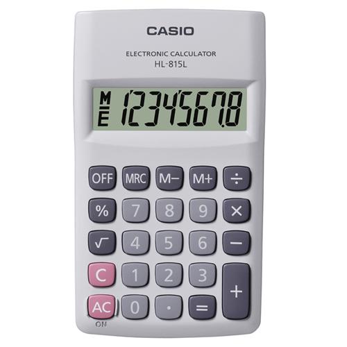CASIO HL-815L 計算機, CASIO HL-815L CALCULATOR