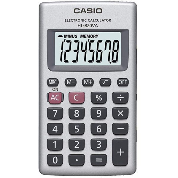 CASIO HL-820VA 計算機, CASIO HL-820VA CALCULATOR