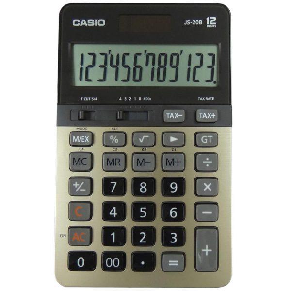 CASIO JS-20B-GD 計算機, CASIO JS-20B-GD CALCULATOR