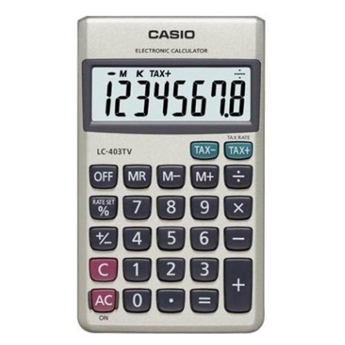 CASIO LC-403-TV 計算機, CASIO LC-403-TV CALCULATOR