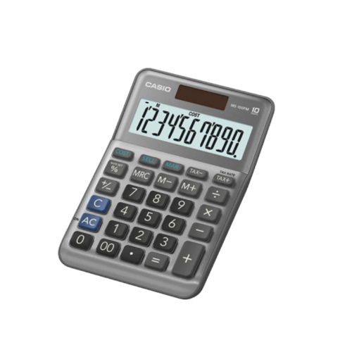 CASIO MS-100FM 計算機, CASIO MS-100FM CALCULATOR