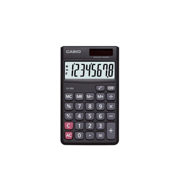 CASIO SX-300 計算機, CASIO SX-300 CALCULATOR