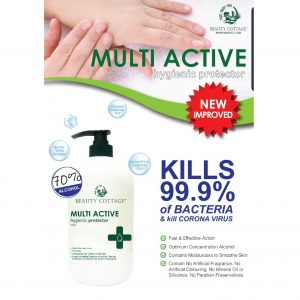 BEAUTY COTTAGE 酒精潔手液, BEAUTY COTTAGE MULTI ACTIVE HYGIENIC PROTECTOR