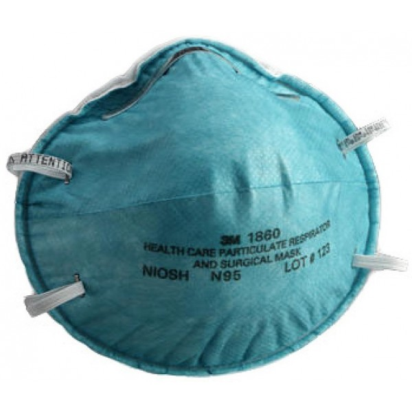 3M 1860 N95 醫用級防護口罩, 3M 1860 N95 MASK