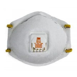 3M 8511 N95 非油性粉塵活門保健口罩, 3M 8511 N95 MASK