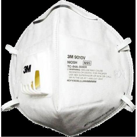 3M 9010V N95 摺合式活門防塵口罩, 3M 9010V N95 MASK