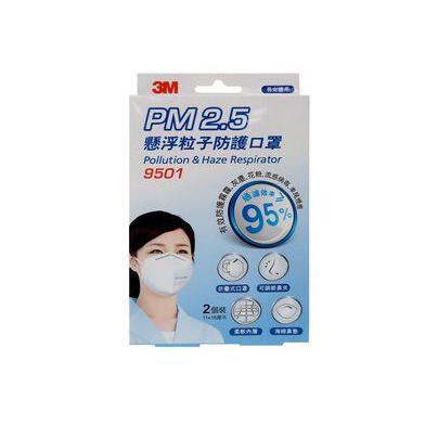 3M PM2.5懸浮粒子防護口罩