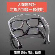 防護眼鏡, SAFETY GOGGLES