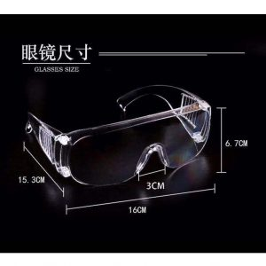 防護眼鏡, SAFETY GOGGLES