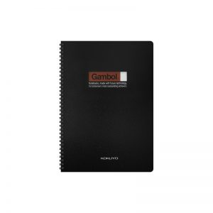 Gambol DS4000 A4 雙線圈膠面簿 (80頁), Gambol DS4000 A4 PP Cover Twin Wire Note Book 80Pages