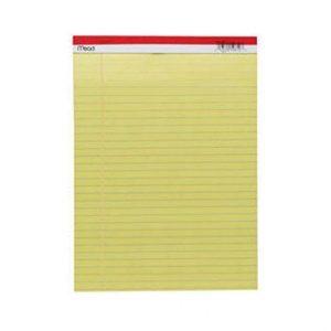 MEAD 59610 單行簿 (8.5 x 11) 50張, MEAD Paper Company 59610 8.5 x 11 Legal Pad 50 Sheets