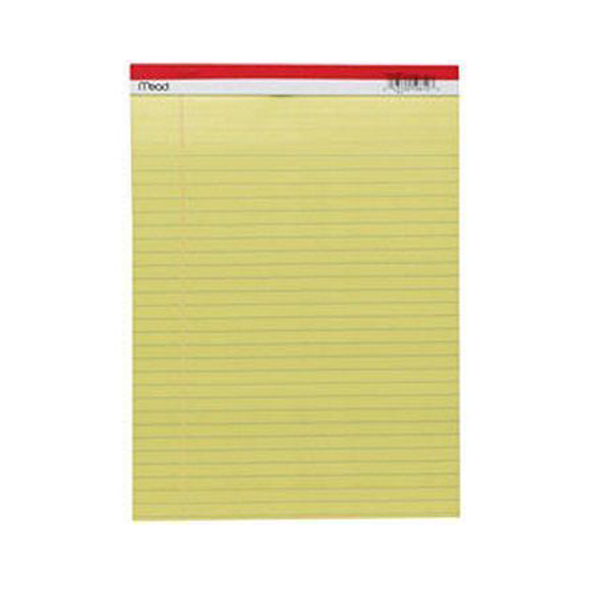 MEAD 59610 單行簿 (8.5 x 11) 50張 MEAD Paper Company 59610 8.5 x 11 Legal Pad 50 Sheets