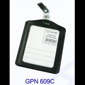 GLOBE GPN609C 仿皮吊夾證件牌 (直)