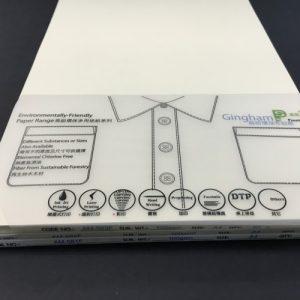 麻紡環保布紋紙, Gingham