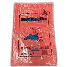 爽潔 紅色(包裝)垃圾袋