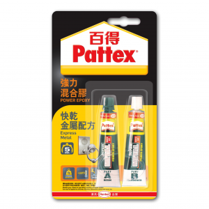 百特 PATTEX PKME15HK 強力混合膠(2x15ml)金屬修補專用
