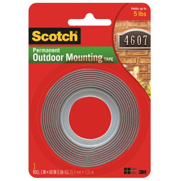 3M Scotch® 4011 超強力雙面膠貼(1 x 60)