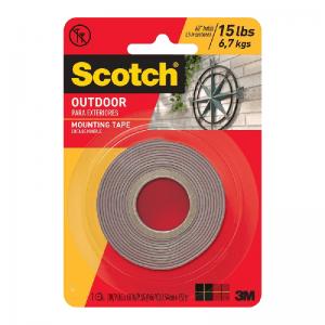 3M Scotch® 411 戶外強力雙面膠貼(1 x 175)