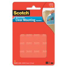 3M Scotch® 859 可再貼透明膠貼(1116 x 1116) 35片裝