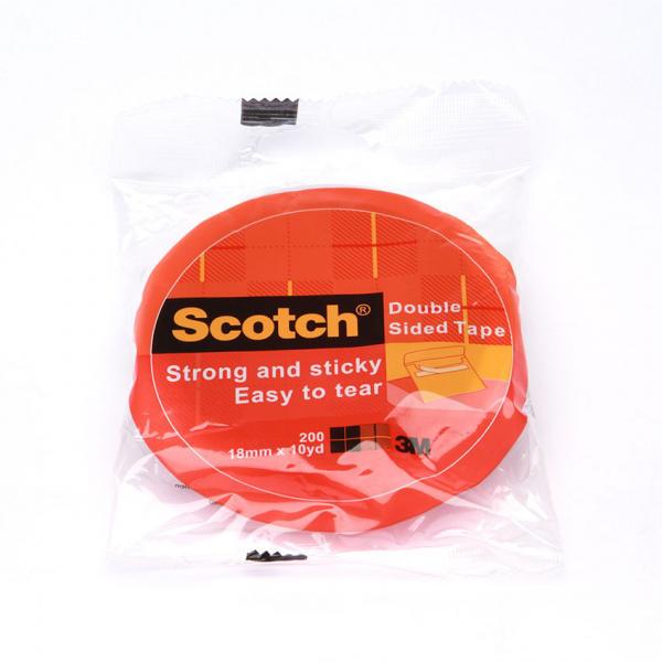 3M Scotch #200 雙面膠紙(12mmX10yds)
