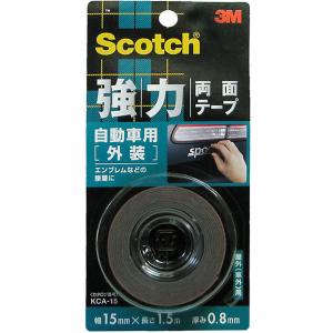 3M Scotchbrite™ KCA-15 強力雙面膠貼 (汽車外部用)