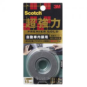 3M Scotchbrite™ KCR-15 金裝超強力雙面膠貼 (汽車內部用)